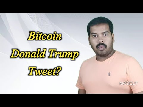 """Bitcoin Tweet From President Trump 
