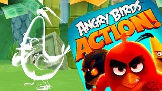 ANGRY BIRDS ACTION Levels 38 - 41 Walkthrough - New Angry Birds Movie Game (IOS/ANDROID)