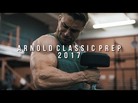Final push for the Arnold 2017!!