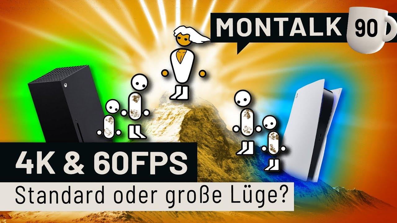 60 FPS kein Standard auf PS5 und Xbox Series X - Skandal? Oder egal?   Montalk #90