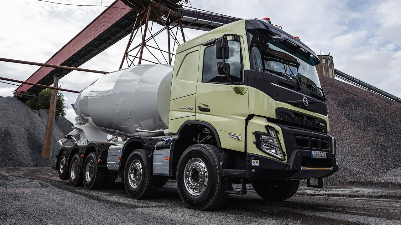 New Volvo Fmx My2020 Youtube