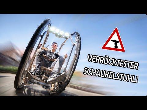 Wir MOTORISIEREN den LOOPING - SCHAUKELSTUHL! | Akkuschrauber als Antrieb!