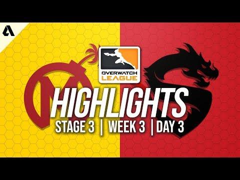 Florida Mayhem vs Shanghai Dragons | Overwatch League Highlights OWL Stage 3 Week 3 Day 3