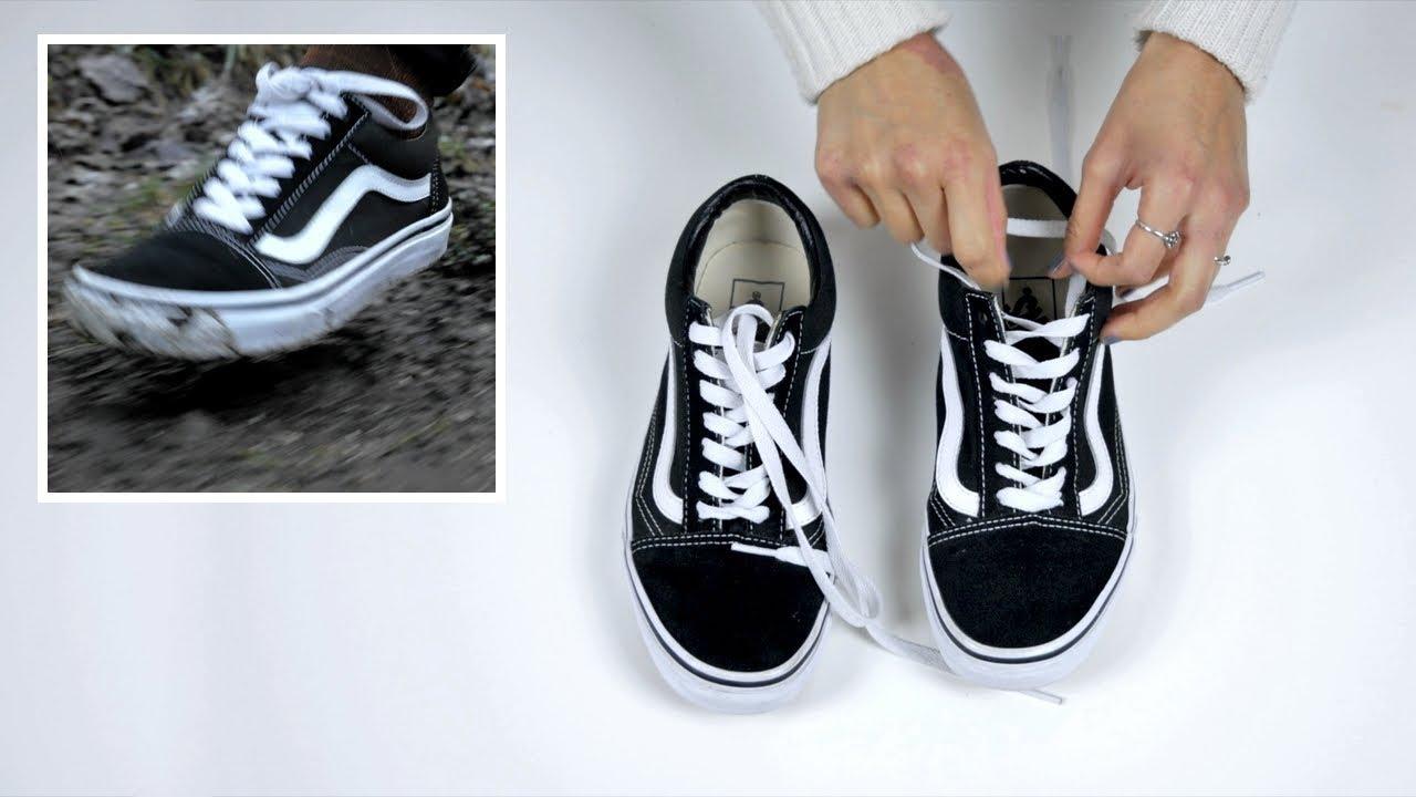 ed5d91d3cfd Cómo dejar los Vans Old Skool como nuevos ! - YouTube