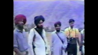 Full Video Footage of Shaheed Avtar Singh Brahma with Shaheed Singhs of Canada