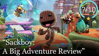 Sackboy: A Big Adventure Review [PS5 & PS4] (Video Game Video Review)