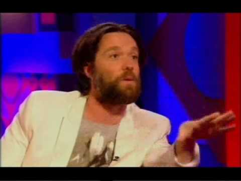 Rufus wainwright on Jonathan Ross Pt1