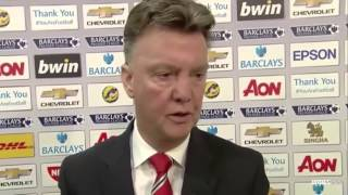 Manchester United Vs Hull City 3-0 • Louis Val Gaal Interview (29.11.2014)