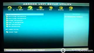 aSRock Z68 Pro3 UEFI BIOS