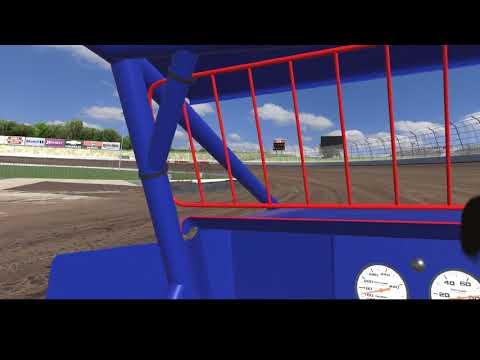 Wingless Sprint @ Eldora Speedway - first try