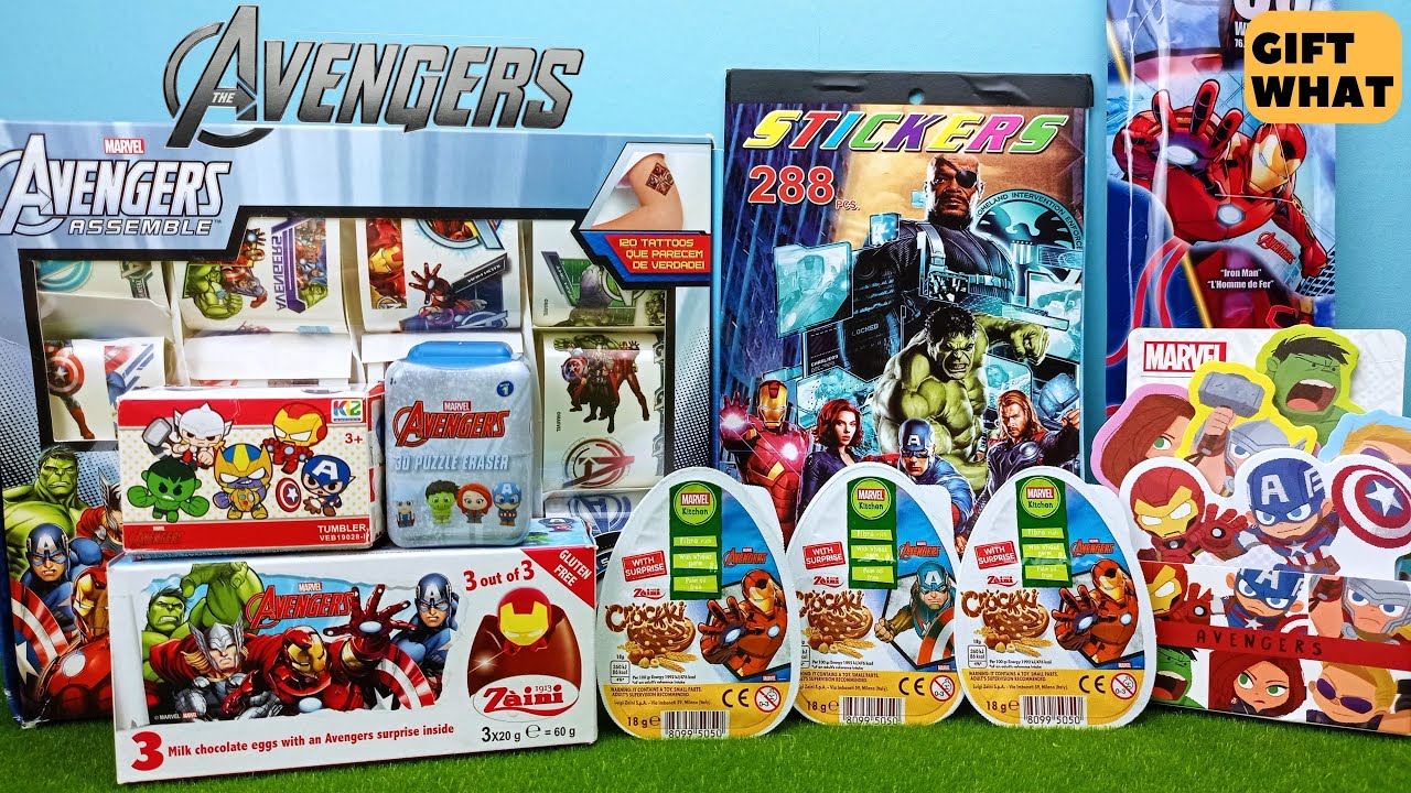 Marvel Avengers 2021 Collection Unboxing 【 GiftWhat 】
