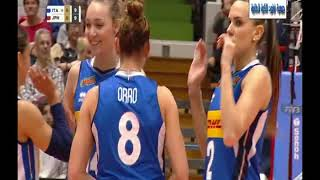 Italy Vs Japan - world Volleyball Montreux women - 17-05-2019