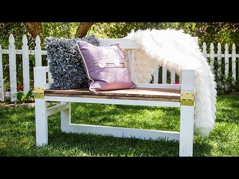 diy 2 in 1 coffee table bench - hallmark channel - youtube