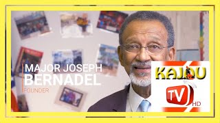 Kajou BIZ avec Major Joseph Bernadel Founder of Toussaint L'Ouverture Hight School