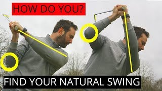 HOW TO FIND YOUR NATURAL GOLF SWING