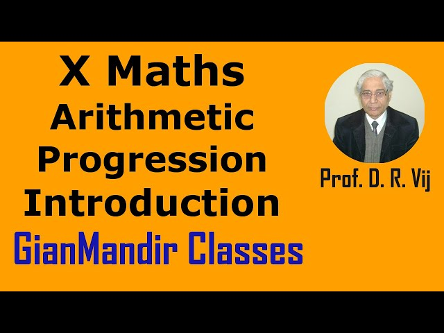 X Maths | Arithmetic Progression | Introduction by Preeti Ma'am