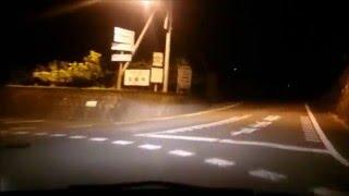 【車載動画】【夜間走行】徳島:大川原高原へ登ってみました