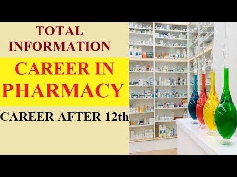 CAREER IN PHARMACY/CAREER AFTER 12th/DETAIL INFORMATION/D.Pharm/B.Pharm/CAREER OPTIONS/JOBS/M.Pharm