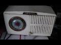 1951 GE AA5 AM Clock Radio Repair