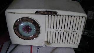 1951 GE AA5 AM Clock Radio Repair