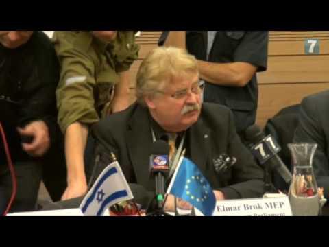 EU Parliamentarians visit Knesset