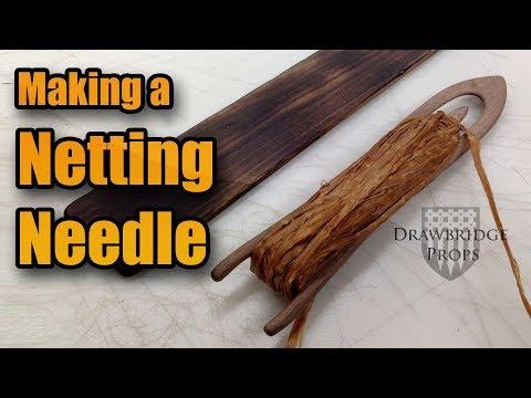 Netting Needle - Make A Wood Net Needle For Net Making