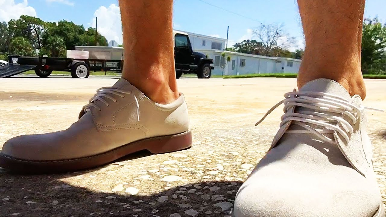dress - How to white wear suede bucks video