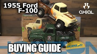 Load Video 2:  Axial 1/10 SCX10 II 1955 Ford 4WD RTR Brown
