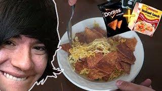 La Sopa de Pipepunk Doritos Negros + Maruchan / Cocinando Con Riser