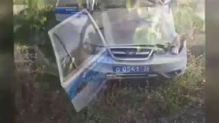 Погоня полиции за нарушителем в Воронежской области
