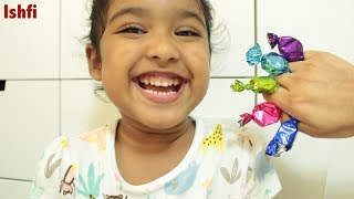 Ishfi's Colourful Candy unboxing with Nursery Rhymes