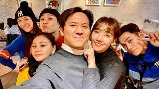 (한) Hari Won, Trúc Nhân cùng dàn diễn viên phim Bố Già quậy tưng bừng ở Hàn Quốc 웹드 Bố Già 팀과 한국에서~!