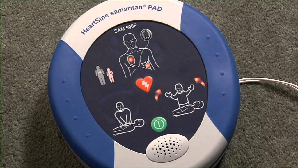 HeartSine Samaritan PAD 500P Defibrillator (AED) Introduction -  www Vivomed com
