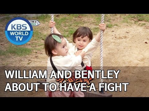 William and Bentley about to have a fight [The Return of Superman/2019.10.06]