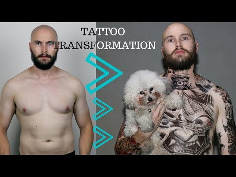 Full body tattoo - Bald guys with tattoos - Do bald guys look better with tattoos?