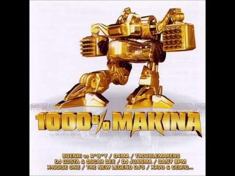 Down On My Knees - 1000% MAKINA CD.2 - (Stormy Dj's)