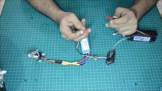 Basic electronics, rc motor setup (Bangla)