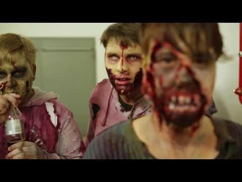 Zombie-Escape im Forum Mittelrhein Koblenz - behind the scenes