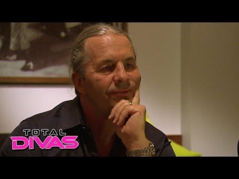 Bret Hart gives Natalya some family advice: Total Divas, July 14, 2015