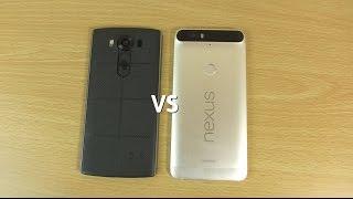 LG V10 VS Google Nexus 6P - Speed & Camera Test!