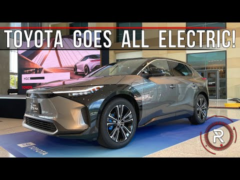 2023 Toyota bZ4X Concept: *Hands On* With Toyota's First Serious Electric Car – Redline: First Look