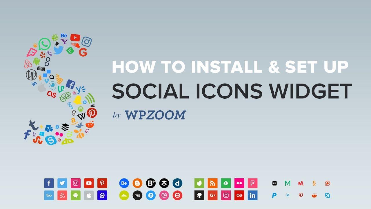 Social Icons Widget by WPZOOM – WordPress plugin   WordPress org