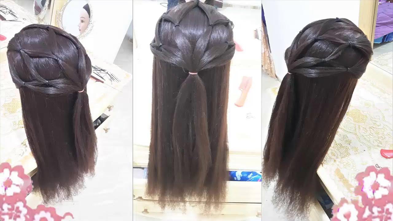 peinados faciles para nia nuevo para cabello largo con trenzas bonitos y rapidos