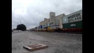 BNSF Westbound Z Train Woodward Oklahoma