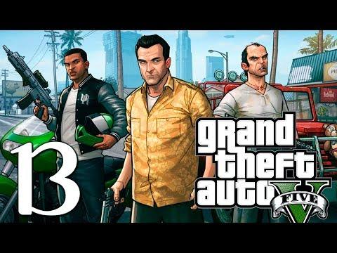 "Grand Theft Auto V | En Español | Capítulo 13 ""El golpe a Merryweather"" thumbnail"