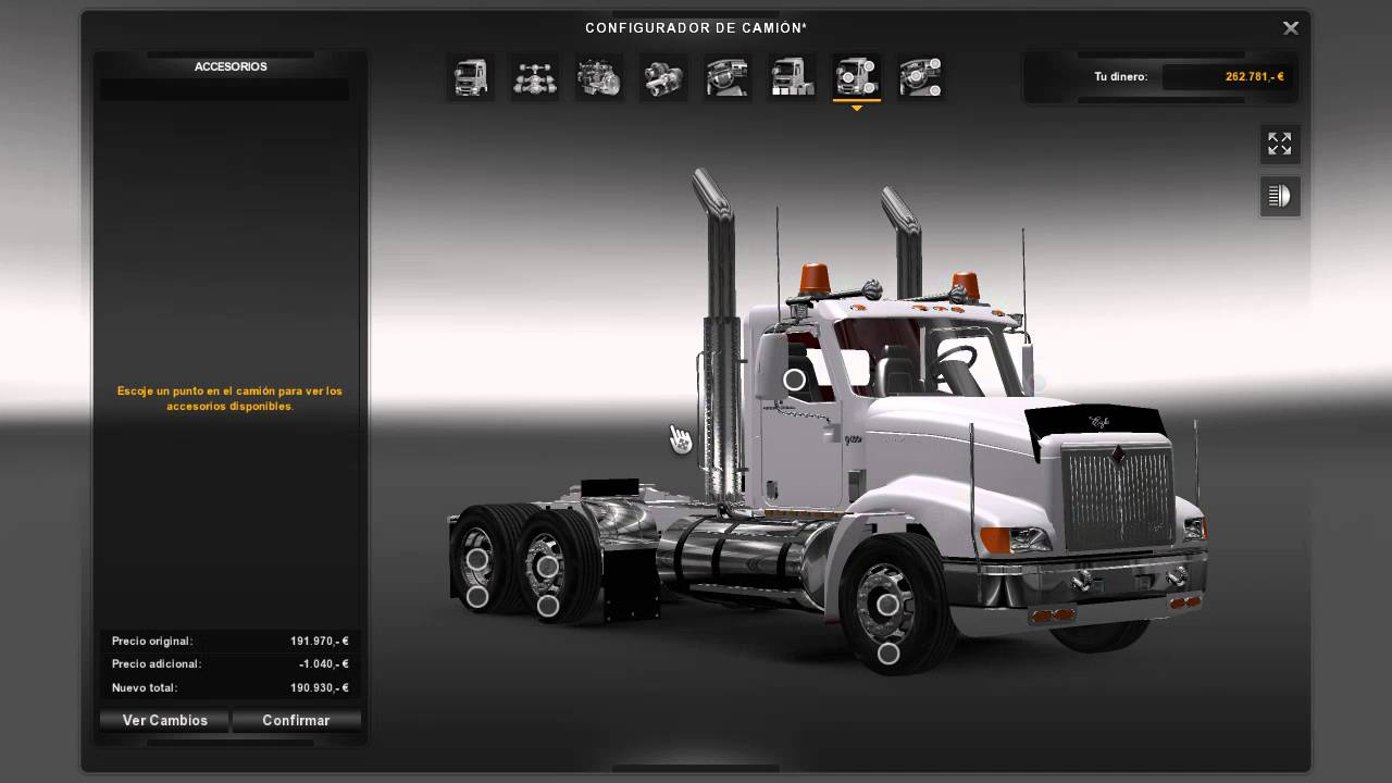 Cabina International 9400i : Euro truck simulator 2 international 9400 colombia youtube