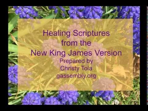 Healing Scriptures from the New King James Version Prepared by Christy Tola  (2015)