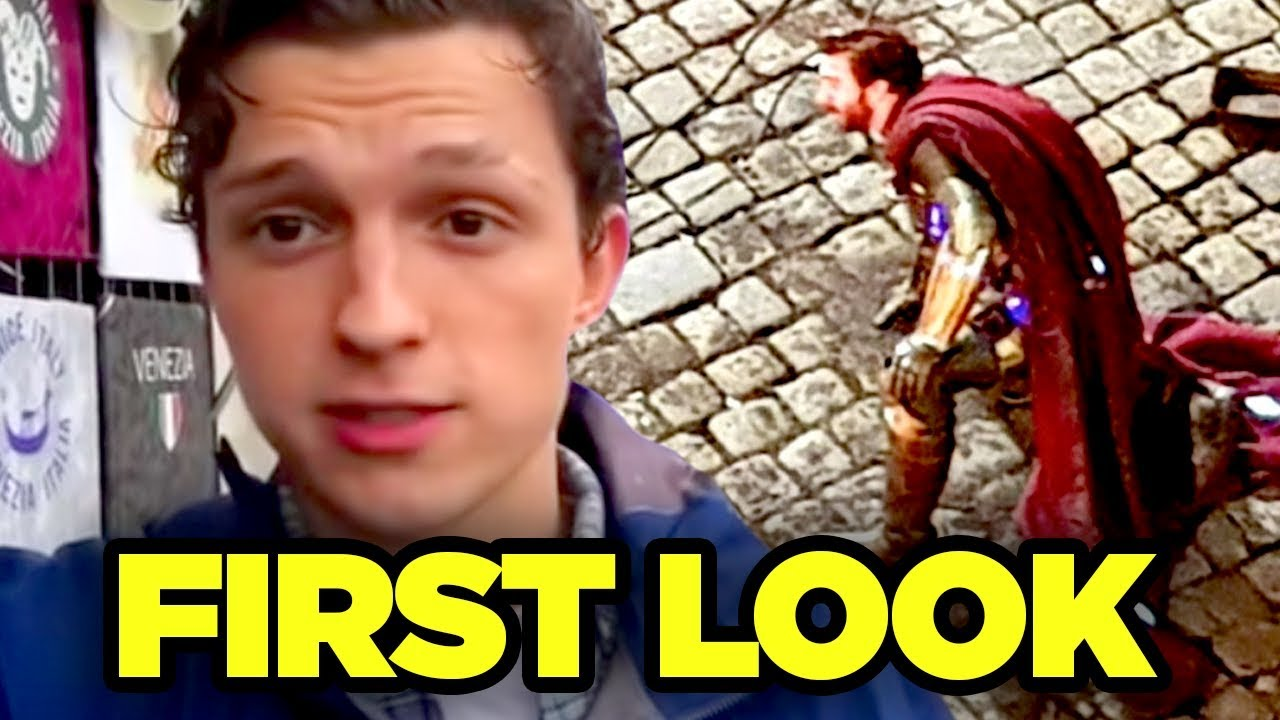 spider-man far from home mysterio revealed! (jake gyllenhaal first