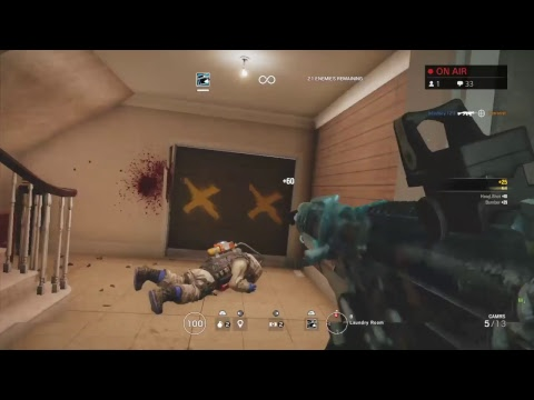 Tom Clancy's Rainbow Six Siege [225] [Plat 1] Casual Stream  (Just Chillin)