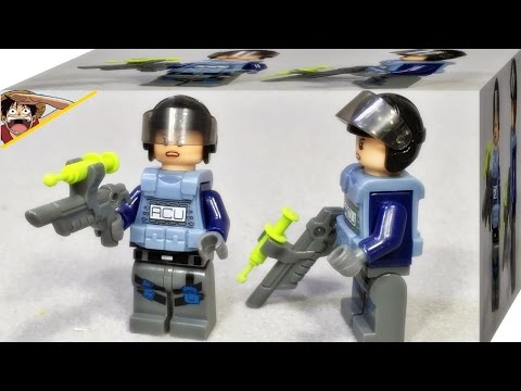 lele 쥬라기월드 공룡경비대 ACU 여성 특수작전요원 레고 짝퉁 미니피규어 Lego knockoff Jurassic World swat army mini figures